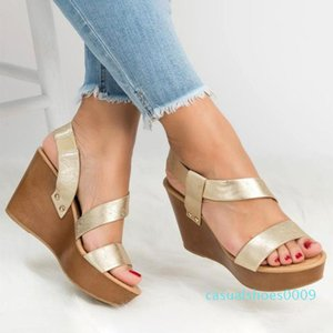 Size 36-43 2020 New Novelty Summer Female Sandals Women's Wedges Super High Heels Shoes Woman Collocation Daily Dress Shoes c09