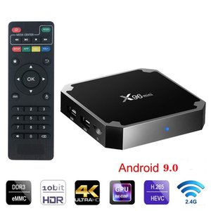 Hot Android box X96 mini S905w 2GB 16GB WiFi Lan 4k ultra smart tv Cutsom Logo television 4k 2.4G wifi Media player