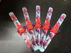 3D Karikatür Spiderman Saatler Moda Erkek Çocuklar Çocuklar öğrenciler Örümcek Adam Batman Spor Silikon Saatler Analog Kol