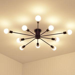 Pendentif moderne Nordic Lights lampe LED E27 Accrocher Luminaire Ampoule Lampe suspendue Décoration Lampe d'éclairage