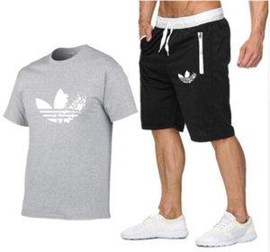I più nuovi O-collo della maglietta maniche corte uomini di modo di doodle di stampa di cotone divertente uomini della maglietta supera i T casuali 3d tshirt +