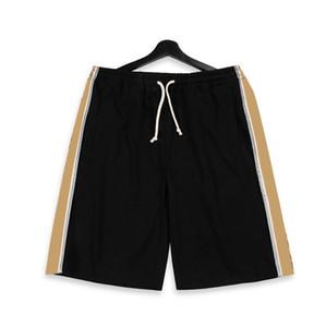 20SS Made in Italy Reflective cintura elástica Shorts High Street Drawstring calças curtas ao ar livre Vintage Pants Casual Desportivo Shorts HFYMKZ199