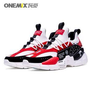 ONEMIX 2020 neue Männer und Frauen Sportschuhe Mode Tennisschuhe Outdoor-Freizeit-atmungsaktive Joggingschuhe erhöht