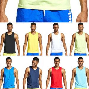 Tank Top Men Gym New Fitness Clothing Blank Sleeveless Quick Dry Slim Fit Bodybuilding Men Sportwear Undershirt Running Vest
