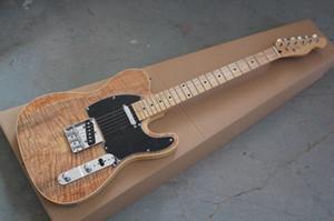 الجملة أسلوب جديد المذيع الغيتار Ameican القياسية عن بعد اللون البني الغيتار الكهربائي الأحمر مع الذهبي