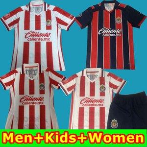 Top Thaïlande 20 21 Chivas de Guadalajara Football Maillots A.PULIDO Chivas Hommes Femmes Enfants 2019 2020 2021 enfants maillot de pied chemises de football
