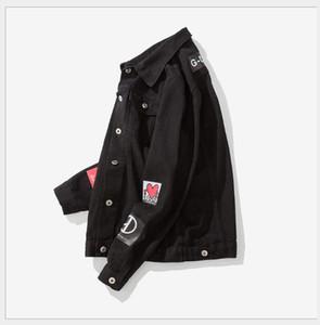 Şampiyonlar Erkek kot ceketler Yeni jean Dış Giyim Palto Tasarımcı Denim ceket Giacca di kot Kadınlar Casual Giacca Açık Veste tr jean
