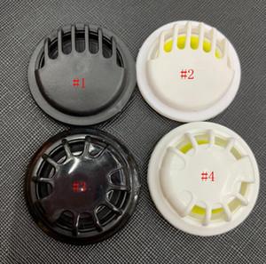 Masque de protection respiratoire 4styles Valve Masque Accessoires Entretien ménager One-Way Masque d'échappement Vannes en noir et blanc de respiration Vannes GGA3542-2