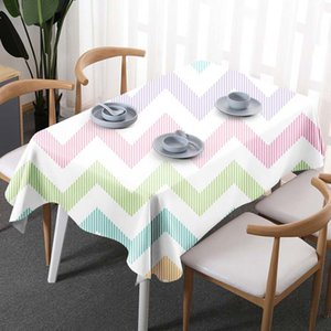 Geometria de linho boêmio à prova d 'água retângulo de poliéster toalhas de mesa decorativa decoração de casa toalha de mesa toalha de mesa de alta qualidade