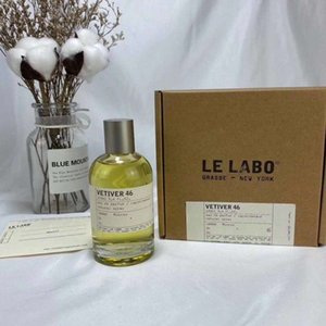 2020 de alta calidad 100ML Le Labo Rose Series Perfume Santal BERGAMOTE Rose THE NOIR fragancia duradera con entrega rápida