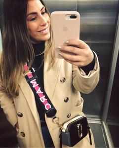 Кожаная сумка-мессенджер мода повседневная классическая сумка сплошной цвет цепная пряжка маленькая квадратная сумка держатель визитной карточки мобильные сумки