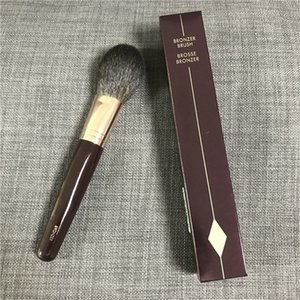 Marka Bronzlaştırıcı Fırça Brosse Bronzlaştırıcı Sincap Saç Keçi Saç Mix Toz Fırçası Güzellik Makyaj Blender Aracı Uygula ...