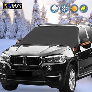 Couverture de neige Pare-brise de voiture d'hiver Autos magnétique Pare-brise Pare-soleil anti-gel résistant au gel universel de voiture Sun Protector