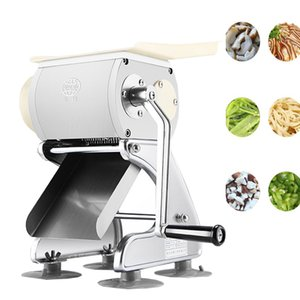 Manual Kitchen household meat slicer Stainless steel slicer Wire cutter 220V Meat grinder Sliced meat dicing machine