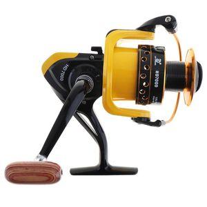 Alemão Tecnologia Carp Fishing Reel roda 12BB Reel 1.000-7.000 Spinning com 20 kg de arrastar Alimentação para Ocean Boat / Rock Pesca