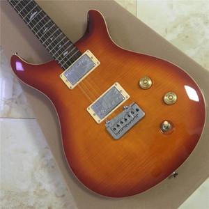 envío libre El nuevo estilo, guitarra eléctrica medida de máxima calidad clásico, trabajo manual 6 cuerdas de la guitarra eléctrica, guitarra diapasón de palo de rosa
