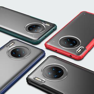 Qualità Anti-caduta alta Phone Case Frosted traslucido per iPhone Pro 11 XS Max XR 8 7 Plus HUAWEI Mate 30 Feeling di Skin Touch Cases