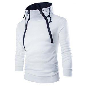 Hot Sale Desinger Duplo Zipper Designer Hoodies Mens Casual Tamanho Turtleneck velo UE Moletons Harajuku Pullovers
