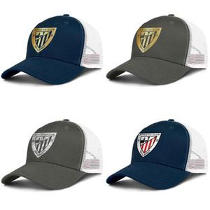 Athletic Bilbao Los Leones ATH pour hommes et femmes camionneur réglable sport de conception meshcap baseballhats personnalisés originaux en marbre d'or flash