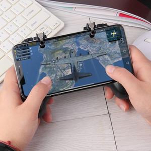 Novos controladores de jogo e joysticks Mobile Phone Gamepad Gatilho Aim botão Shooter Joystick para iPhone Android novo GamePad Accesorios