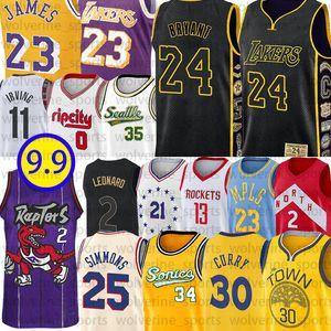 LeBron James 23 NCAA Curry 13 Harden Stephen 30 joel 21 embiid Bryant Kawhi Jersey Leonard Ray Allen 34 Ben Irving Simmons Damian Lillard 0