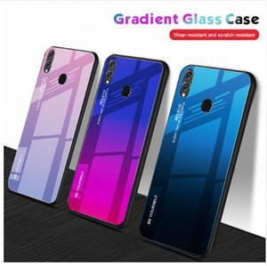 Градиент телефон чехол для Huawei Nova 4 3E 3i 2i P30 P20 Pro Mate 10 20 Lite Micolorful Shell стеклянная крышка чехол для Honor 8X Max 8X лучший случай