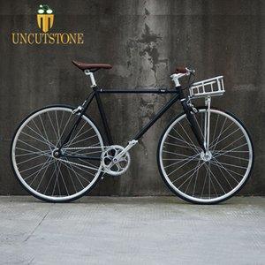 fixie vélo panier fixe vélo vitesse VTT Panniers multifonctionnelles Bagagerie vélo Vintage Panier de bicyclette Accessoires