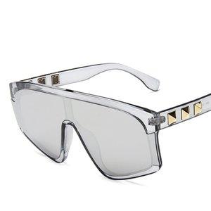 Higodoy Men Oversized Plastic Goggle Sunglasses Mulheres Outdoor Classic Esporte Espelho Gradiente óculos de sol UV400