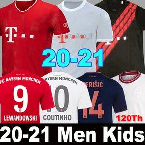 2019 2020 2021 Bayern Munich Munchen LEWANDOWSKI PAVARD camiseta de fútbol Hombres Mujeres Kits de niños MULLER COUTINHO PERISIC ARP HERNANDEZ 19 20 21 NEUER de portero Tailandia