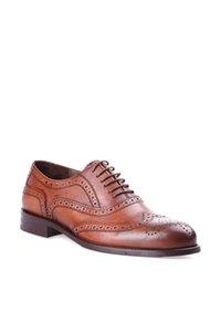 Derimod Gerçek Deri Tan Erkekler Loafer Ayakkabı