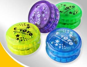 YoYo Ball Световой Игрушка Новый LED Мигающий Детский Механизм Сцепления Yo-Yo Игрушки для Детей Праздник Развлечения Массовая Распродажа