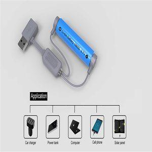 Cargador de batería Folomov A1 18650 para baterías de ion-litio Cargador magnético multifunción USB Mini carga con función de banco de potencia