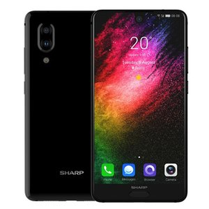 "Orijinal SHARP AQUOS S2 4G LTE Cep Telefonu 4GB RAM 64GB ROM Snapdragon 630 Octa Çekirdek 5.5"" Tam Ekran 12MP Parmak İzi Kimlik Akıllı Cep Telefonu"