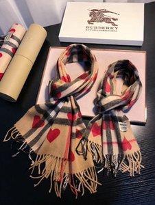 Amor de tela escocesa de la moda de punto chal de lana, traje de padre-hijo, mano de obra exquisita, de manera personalizada, arco iris de tela escocesa de la bufanda caliente suave,