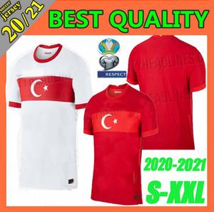 Größe S-XXL 2020 Türkei Euro Fußball-Trikot 20 21 Yazici Caglar Söyüncü Demiral Ozan Kabak Calhanoglu Celik HOMA AWAY Fußball Hemden