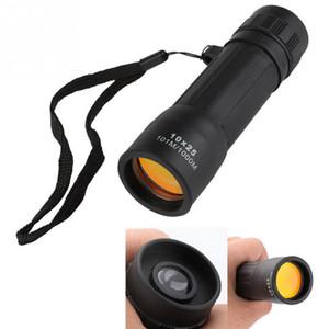 High Quality 10x25 HD 10X Monocular Mini Telescope Portable Watercular Binocular البصرية الصيد السفر التخييم الصيد المشي لمسافات طويلة