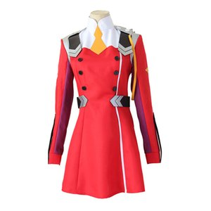 DARLING in the FRANXX Cos HIRO ICHIGO Zero Two MIKU KOKORO School Uniform Cosplay Costume Halloween Suit Outfit