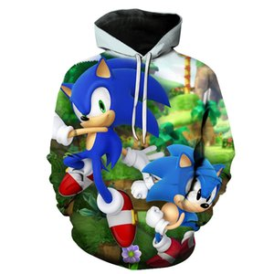 Sonic the hedgehog 3D Hoodie Coat Men Women Sweatshirts 3D Hoodies Pullovers Outerwear Hoodie Jacket Tracksuits Streetwear Hoody Y200704