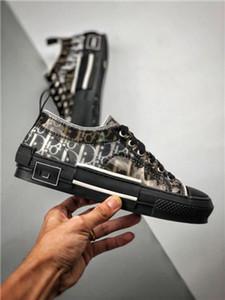 Dior B23 shoes Livraison gratuite hococal gros B2 nouveau alçak bas bas-haut haut-sepetleri sepetleri hommes chaussures de paten chaussures de sport dökün fe dökmek