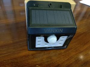 VANXIN Датчик движения Освещение безопасности Солнечные огни безопасности IP65 Беспроводные Водонепроницаемые Светильники для сада Патио Yard Deck Гараж