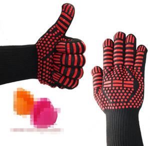 500 Celsius hitzebeständige Handschuhe für Ofen Grill Backen Kochen Mitts In Insulated Silikon BBQ-Handschuhe Küche Tastry Werkzeuge 11 Styles wählen