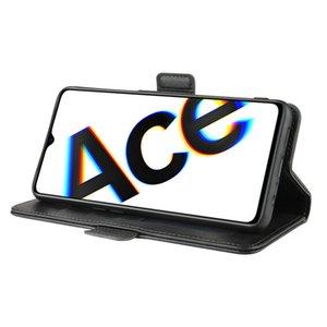 Case Wallet OPPO Reno Ace pour Realme X2 Pro X2 Realme Double couverture en cuir Flip Phone Case Capa Etui