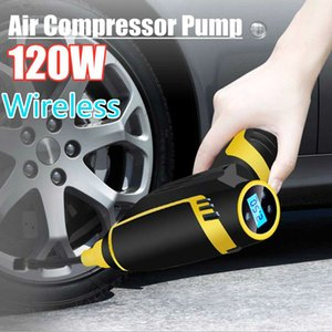 utomobiles & Motorcycles New Car Inflatable Pump USB Charging Wireless Handheld Electric 120w Digital Car Air Compressor Pump for Motorcy...
