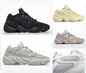yezzyboost350v2yezzysHOT Kanye West 500 Men Women Running Shoes Black Salt Rat 500 Sport Sneakers Super Moon Yellow