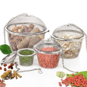 Multi funzione Teakettle bloccaggio Tè Filtro In Acciaio Inox condimento palla creativo Tea Spice Strainer attrezzo della cucina T9I00306