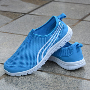 Hot Sale Fashion Men Shoes Mesh Breathable Sneakers Walking Male Footwear New Comfortable Lightweight Running Shoes C-200301186