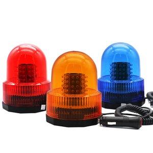 72LED trafic Strobe Beacon Round pivotée Flash Light pour les véhicules d'ingénierie Bus Trailer Camion 12V