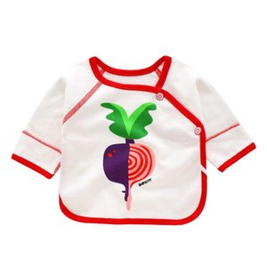 BibiCola Newborn baby clothes infant cartoon shirts tops unisex clothing bebe girls boys cotton pajamas sleep wear baby shirts