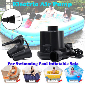 Electric Air Pump For Swimming Pool Inflatable Sofa Fast Inflator Pool Accessories Portable Filling Air Compressor Swimming
