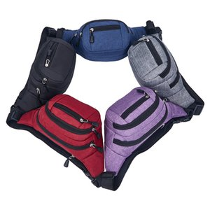 free shipping 30pcs cheap Wholesale Sport Waist packs Casual fashion mobile phone bag sports outdoor travel waist bag